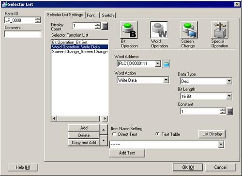f6d46832b38f 10.16 Selector List Parts Settings Guide