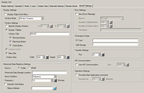 38 5 1 Procedure - Retrieve WinGP information or Operate WinGP from